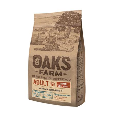 Оакс Фарм Корм беззерновой GF Lamb Adult All Breeds для собак всех пород Ягненок, в ассортименте, Oaks Farm