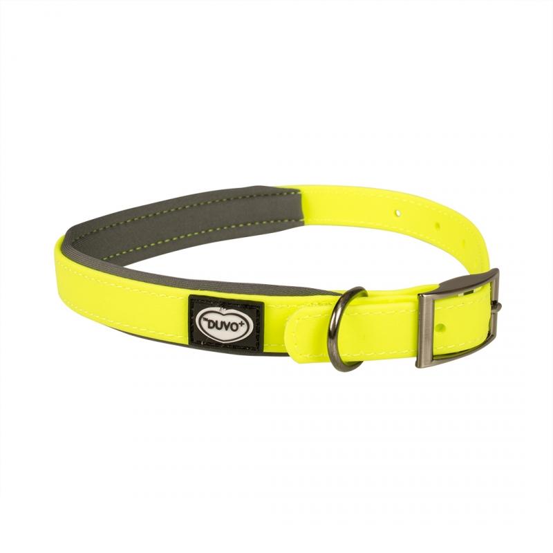 Дуво+ Ошейник для собак Explor жёлтый, в ассортименте, ПВХ/неопрен, DUVO+