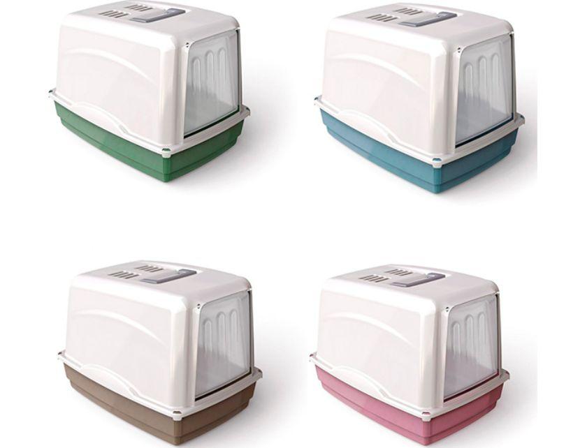ГеорПласт Туалет-бокс Vicky с угольным фильтром, 54*39*39 см, цвета в ассортименте, Georplast