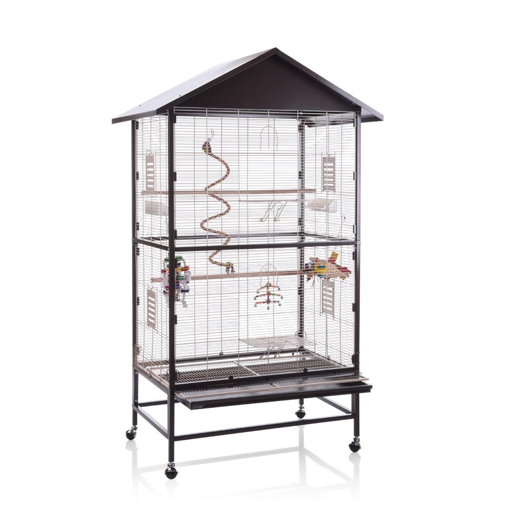 Монтана Клетка Villa Casa 90 для птиц, грызунов, хорьков, 91*60*132/185 см см, в ассортименте, Montana