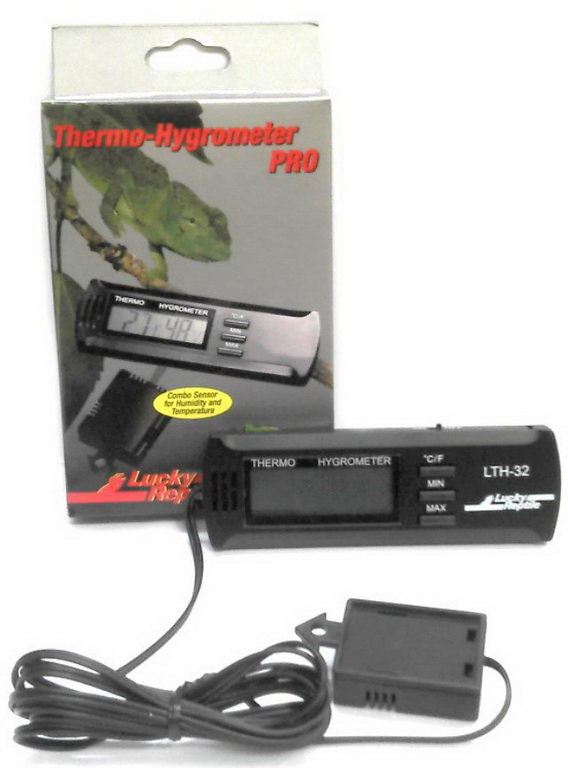 Лаки Рептайл Термометр-гигрометр электронный PRO, Lucky Reptile