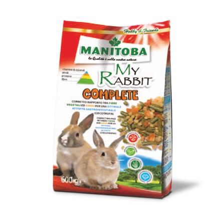 Манитоба Корм для карликовых кроликов My Rabbit Complete 600 г, Manitoba