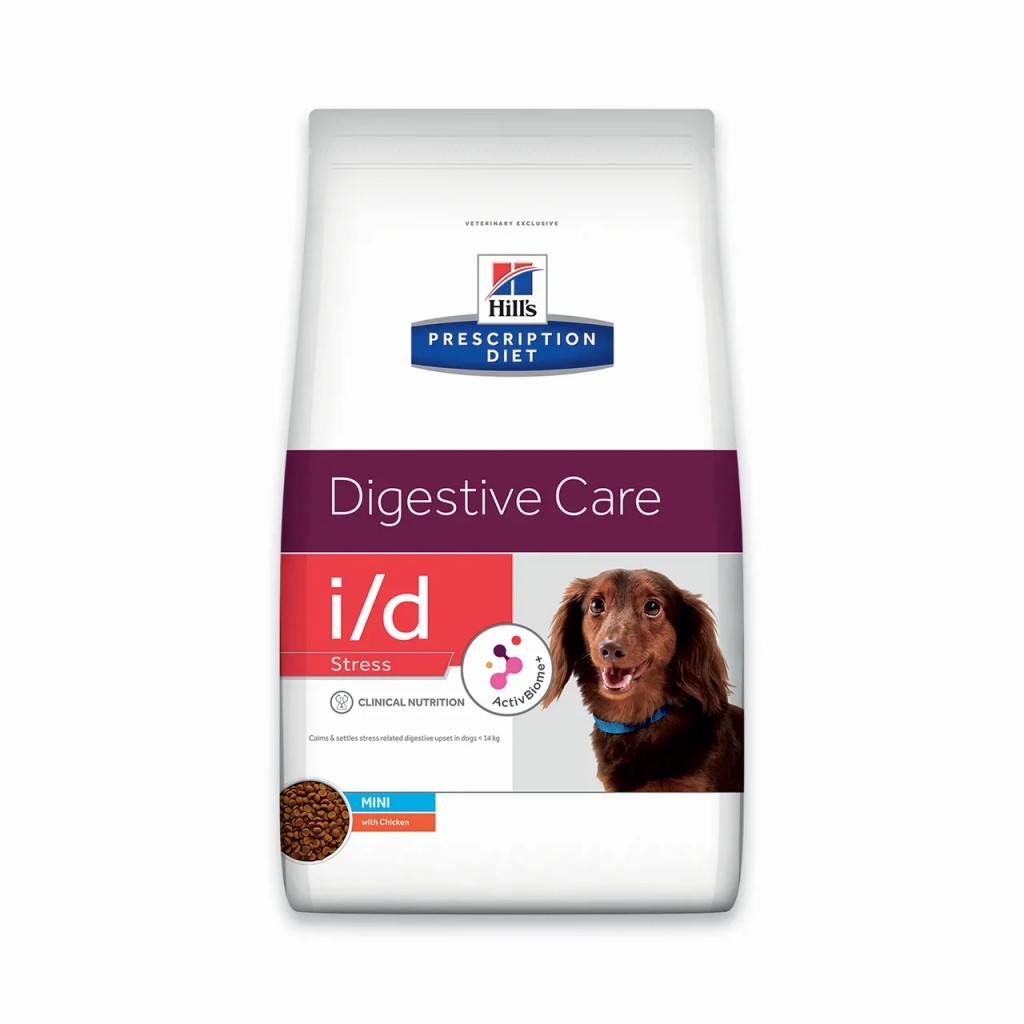 Корм Хиллс Prescription Diet i/d Stress Mini для собак мелких пород при заболеваниях ЖКТ вызванных стрессом, в ассортименте, Hills