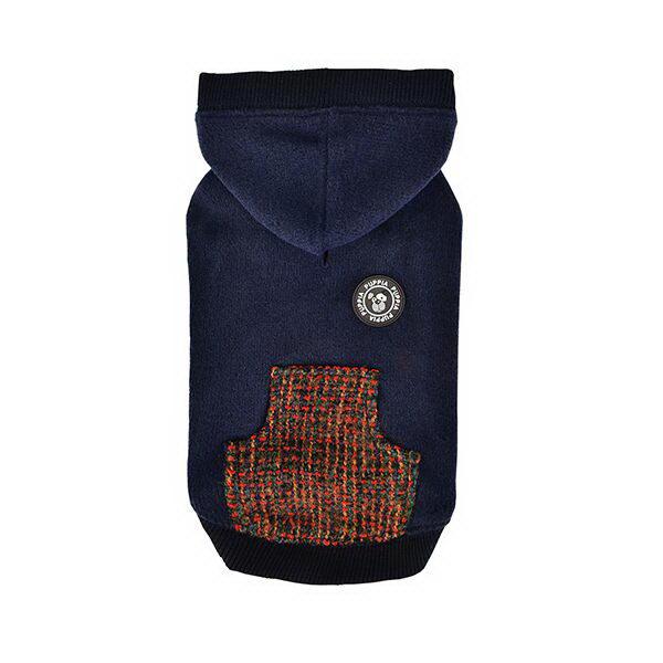 Паппи Толстовка с капюшоном Mason синяя, в ассортименте, Puppia