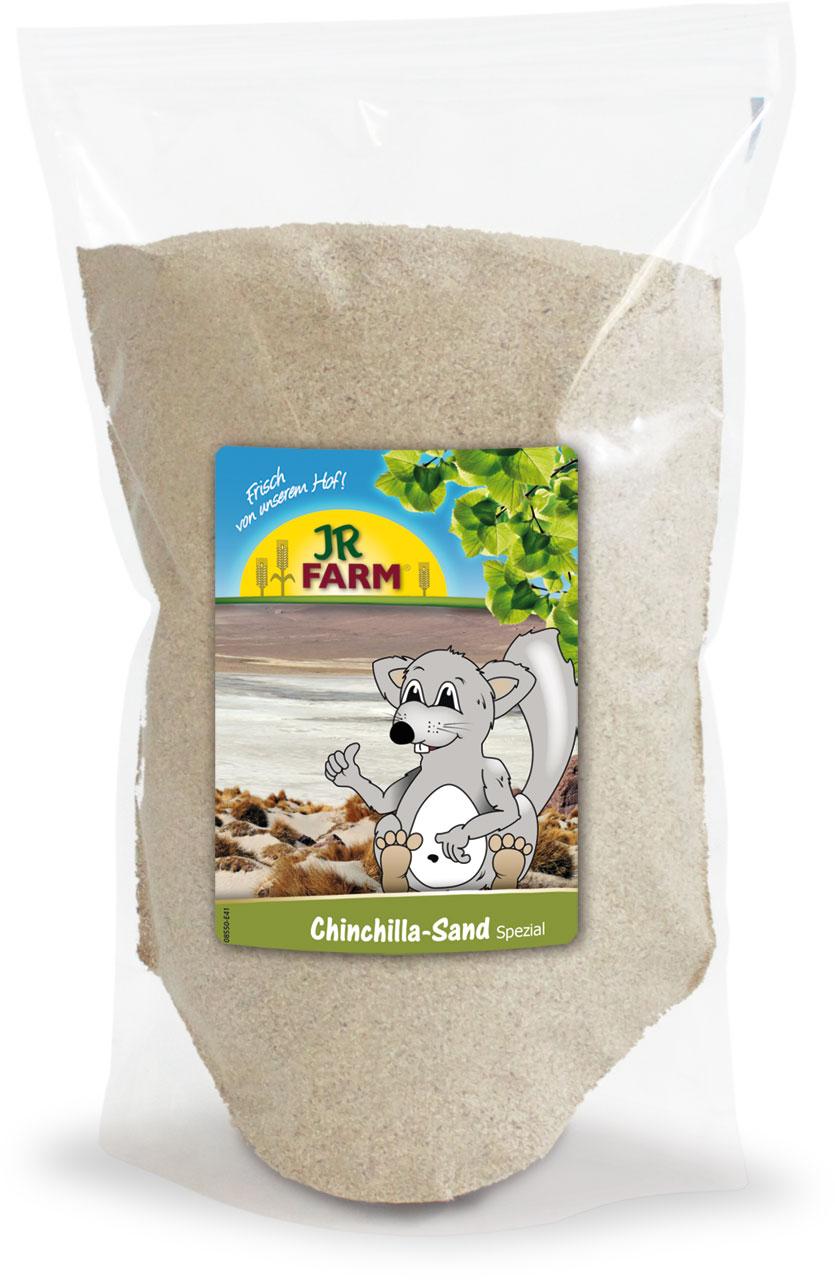 JR Farm Песок для купания шиншилл, дегу, песчанок, хомяков, в ассортименте