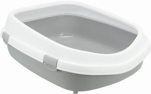 Трикси Туалет-лоток с бортиком Primo XXL для кошек, 56*71*25 см, в ассортименте, Trixie