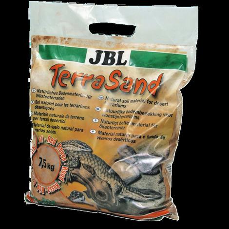 JBL Песок TerraSand natural для пустынных террариумов 7,5 кг, в ассортименте