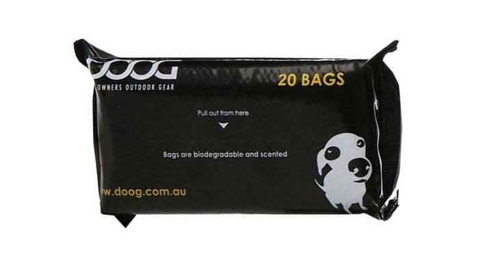 Дуг Пакеты биоразлагаемые ароматизированные для уборки за собакой, в ассортименте, Doog