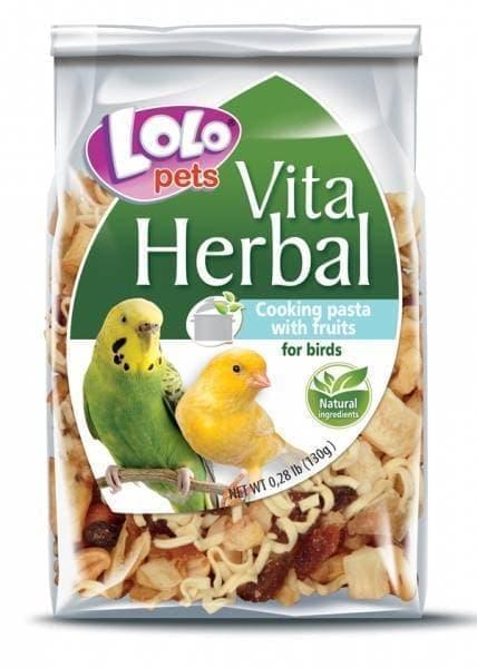 ЛолоПетс Лакомство HERBAL для птиц для самостоятельного приготовления, 130 г, LoloPets