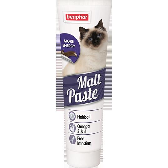 Беафар Паста Malt Pastе для выведения шерсти из желудка для кошек, в ассортименте, Beaphar