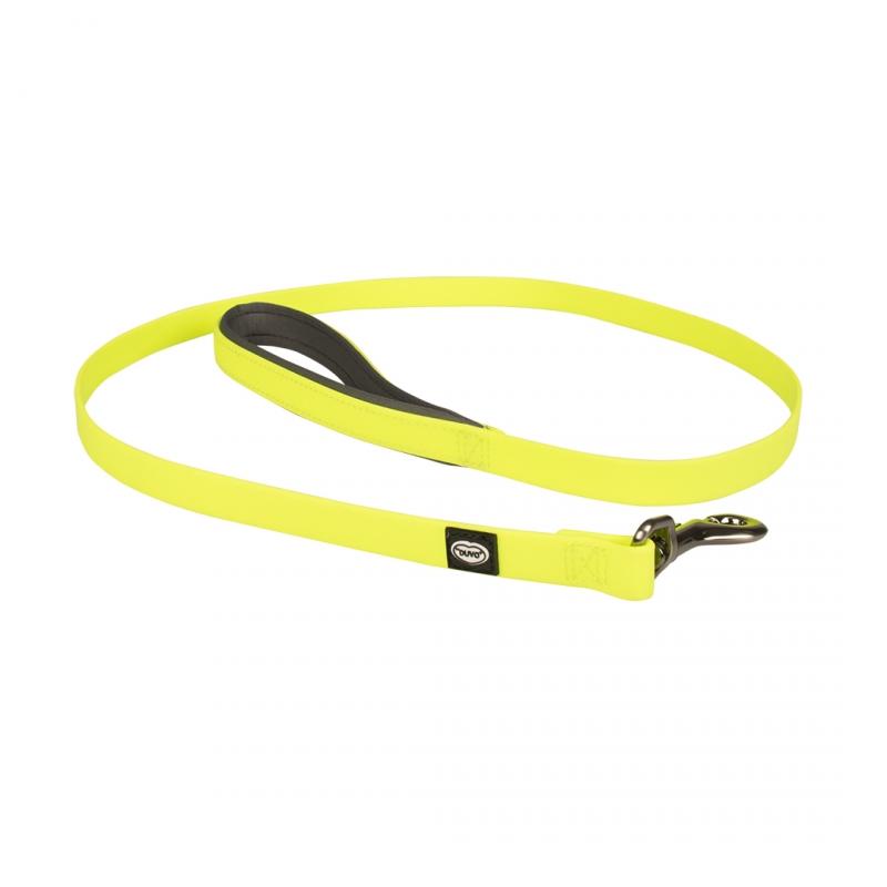 Дуво+ Поводок для собак Explor жёлтый, в ассортименте, неопрен/ПВХ, Duvo+