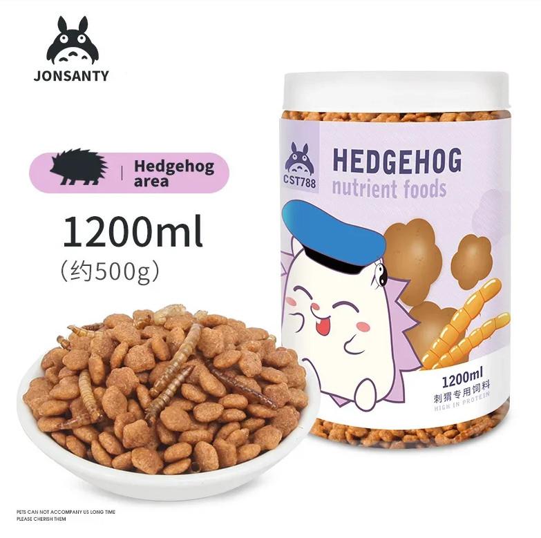 Корм сухой питательный с мучником для африканских ежей Nutrient hedgehog foods, 450 г, Jonsanty