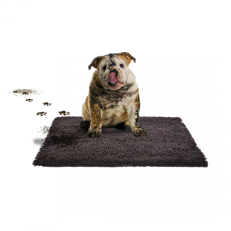 Дуво+ Коврик впитывающий для животных Magiclean, серый, 90*65 см, DUVO+