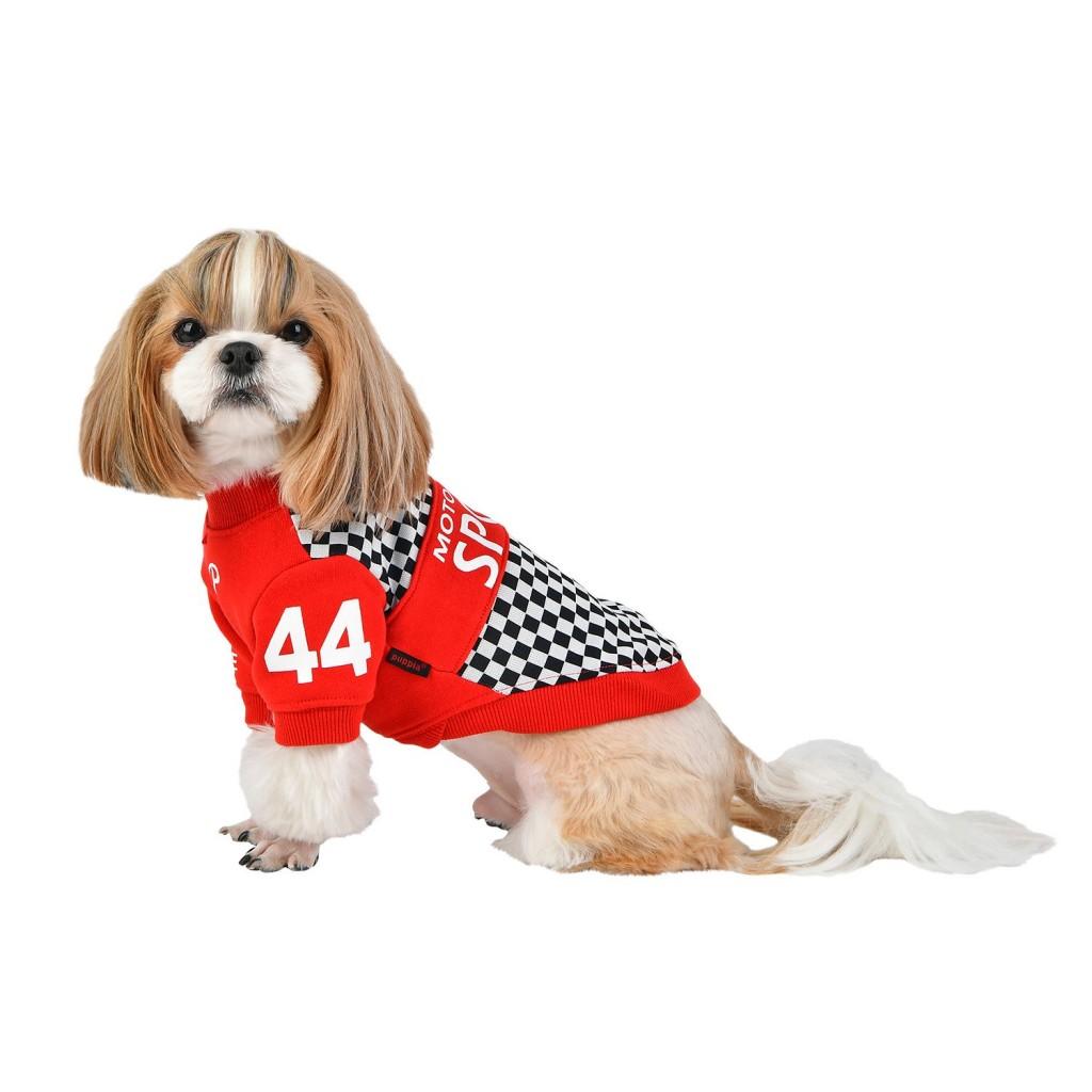 Паппи Футболка для собак Racer красная, в ассортименте, Puppia