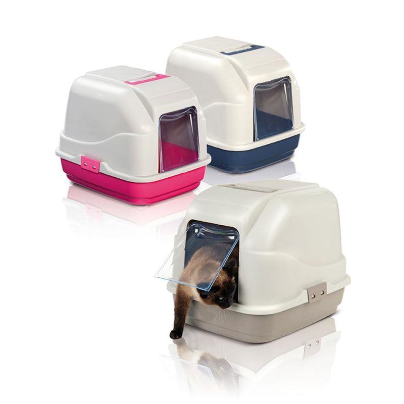 Имак Туалет-бокс My Cat для кошек, 50*40*40 см, в ассортименте, Imac