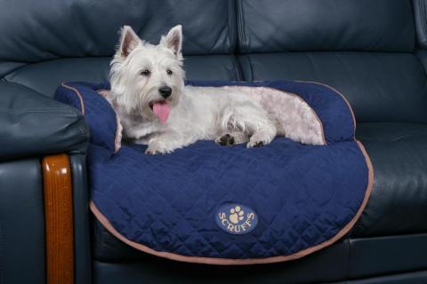 Скрафс Лежак на диван Wilton с валиком, в ассортименте, Scruffs