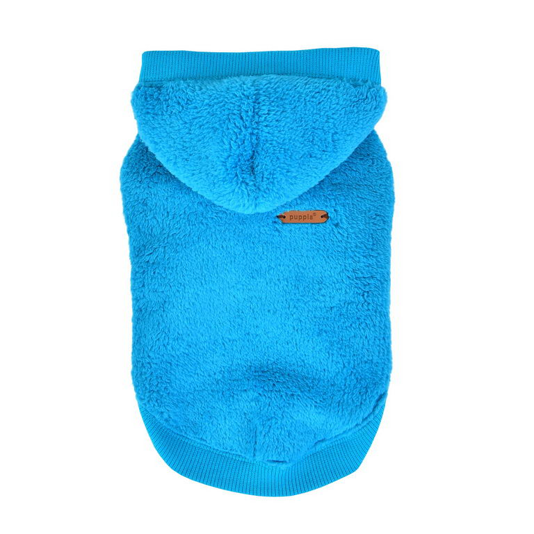 Паппи Толстовка плюшевая Willa для собак, в ассортименте, голубая, Puppia