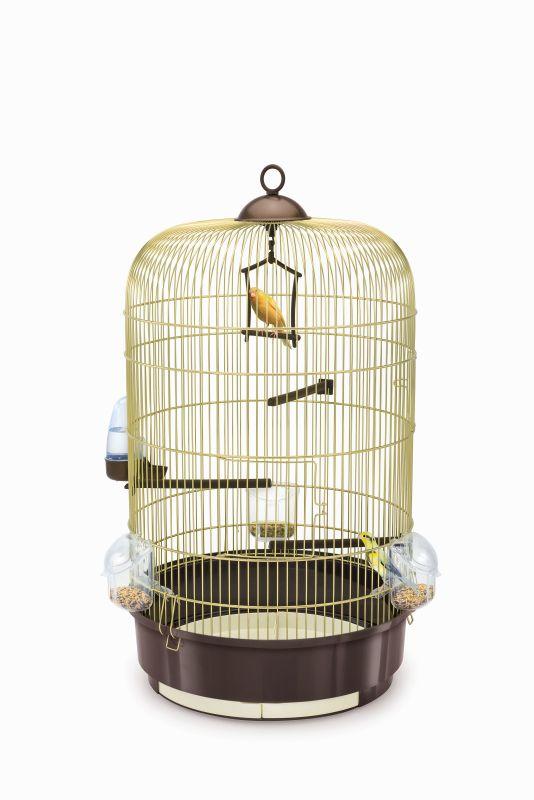 Имак Клетка Luna для птиц, диаметр 40 см, высота 65 см, в ассортименте, Imac