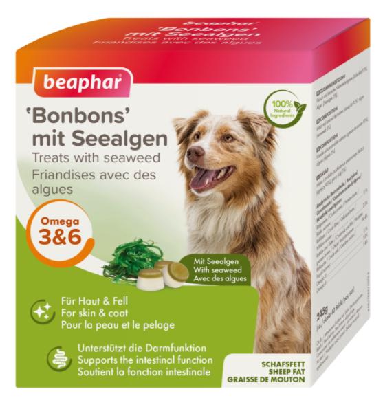 Беафар Лакомство для собак Bonbons Бараний жир с водорослями, 40 шт / 245 г, Beaphar