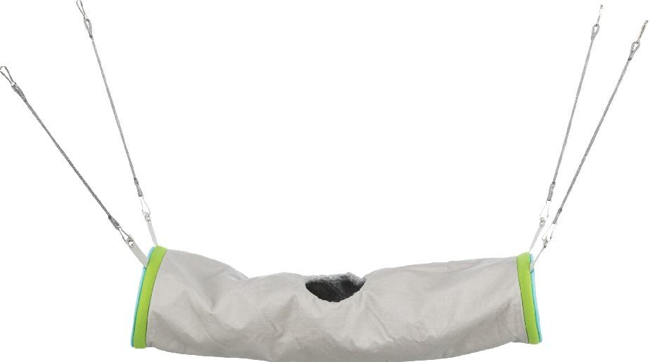Трикси Тоннель для грызунов и хорьков подвесной с мехом, 20*45 см, меховой, Trixie