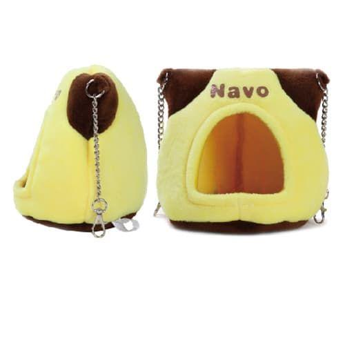 НОВИНКА!! Домик треугольный Navo на цепочках для грызунов, в ассортименте, Золотая Клетка