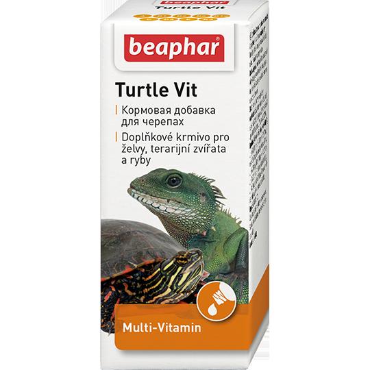 Беафар Кормовая добавка Turtle Vit для черепах и рыб, 20 мл, Beafar