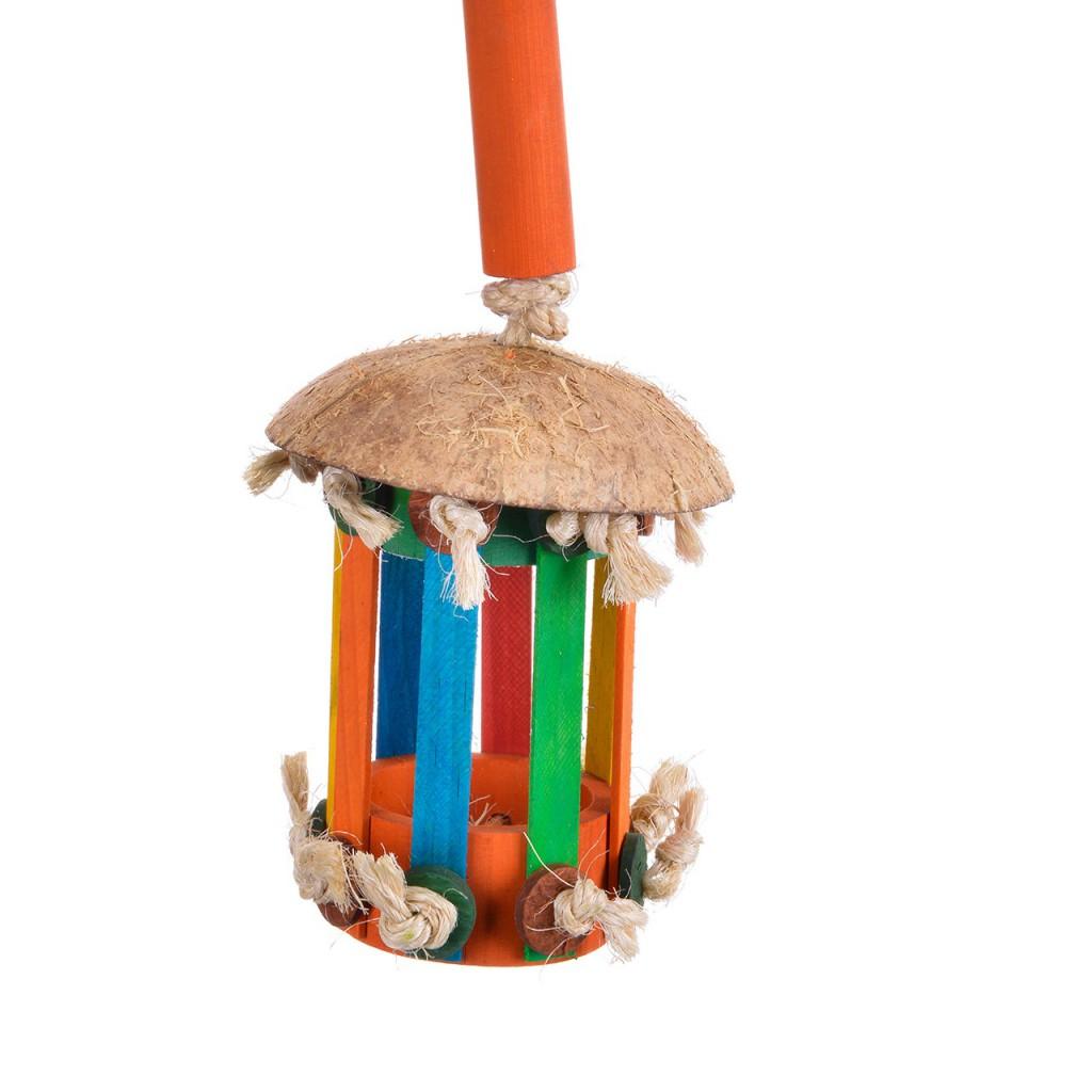 Хеппи Берд Игрушка Бали для средних и крупных птиц 44*10 см, Happy Bird