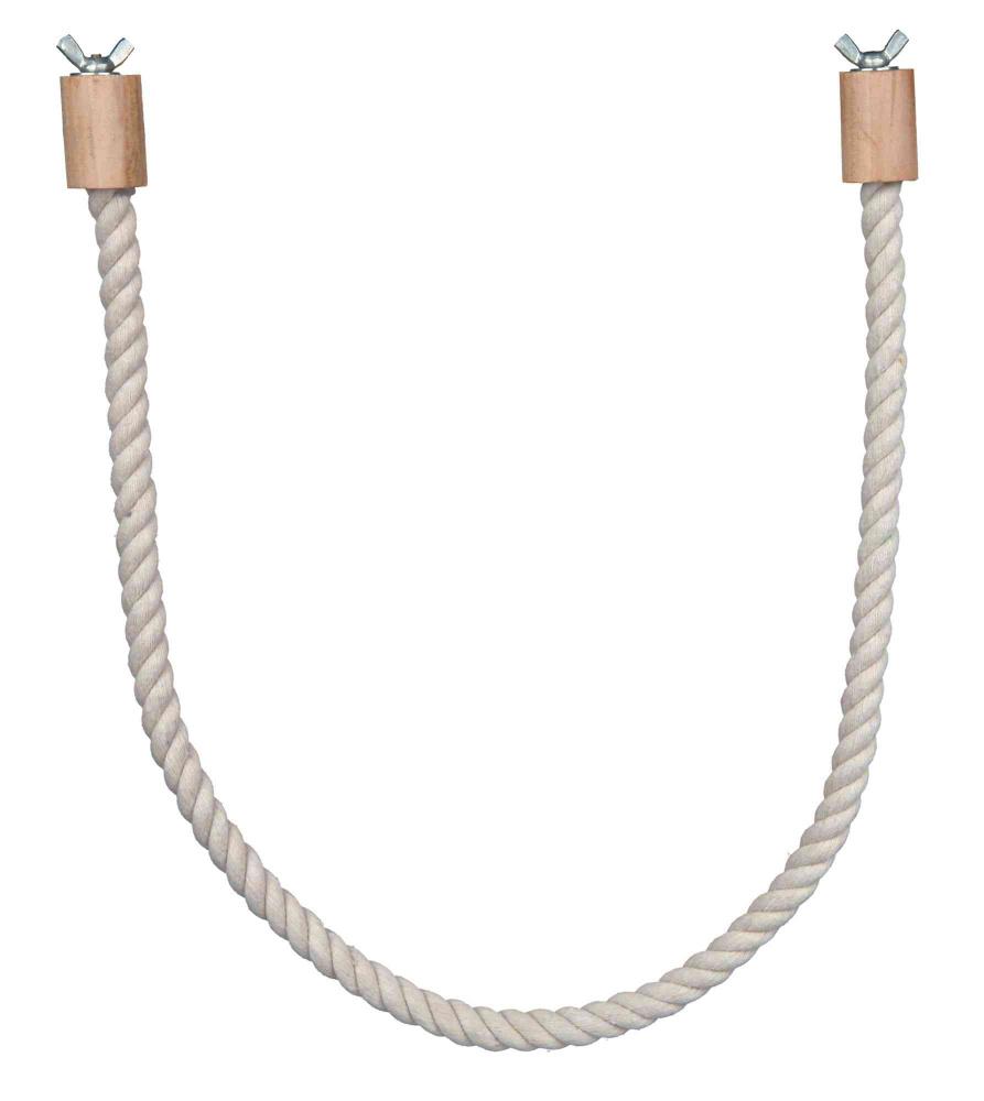 Трикси Гибкая жердочка из хлопка с винтовым креплением, 66 см, диаметр 1,4 см Trixie