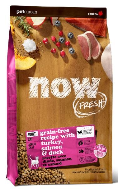Корм Нау беззерновой для кошек Fresh Grain Free Adult Cat Recipe Индейка/Утка/Овощи, в ассортименте, Now