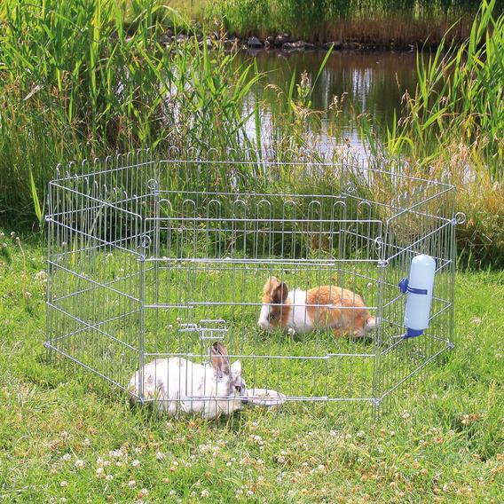Трикси Загон для мелких животных оцинкованный (диаметр*высота) 120*63 см, в ассортименте, Trixie