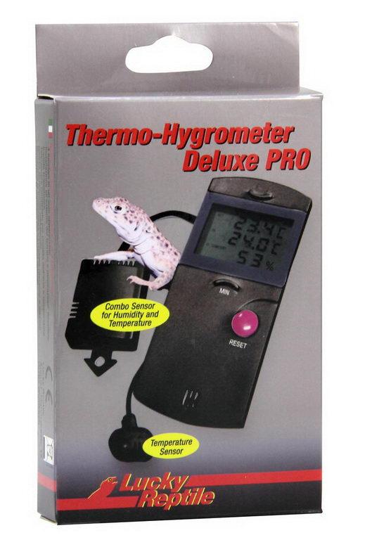 Лаки Рептайл Термометр-гигрометр электронный Deluxe PRO, Lucky Reptile