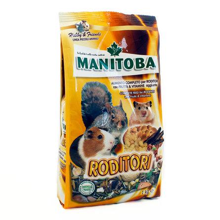Манитоба Корм универсальный для всеядных грызунов, 1 кг, Manitoba