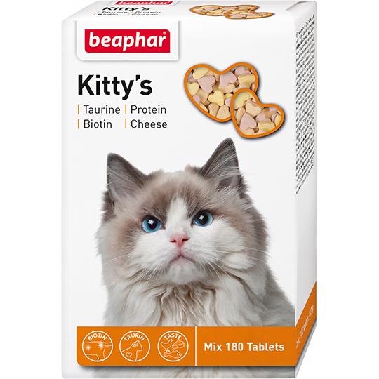 Беафар Кормовая добавка Kitty's Mix для кошек, в ассортименте, Beaphar