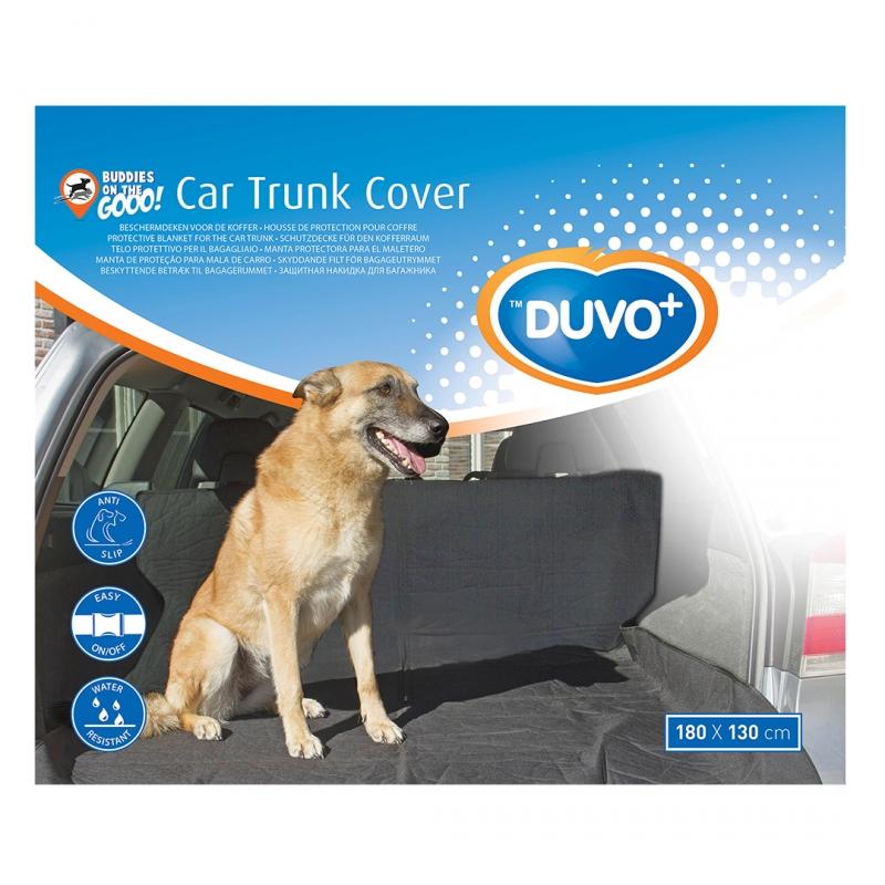 Дуво+ Подстилка для собаки в автомобиль для багажника или заднего сидения 180*130 см, DUVO+