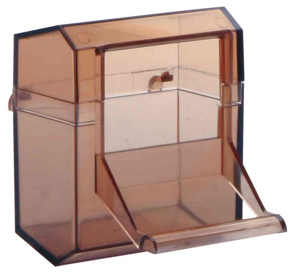 Трикси Кормушка для птиц закрытая внутренняя с присестом, 7*7 см, 70 мл, в ассортименте, Trixie