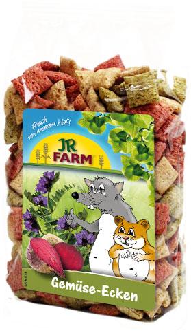 JR Farm Лакомство Gemuse-Ecken Овощные подушечки для всех видов грызунов, 100 г