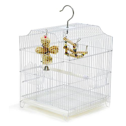 Клетка 502 для мелких птиц 33*31,5*60 см, в ассортименте, Золотая Клетка