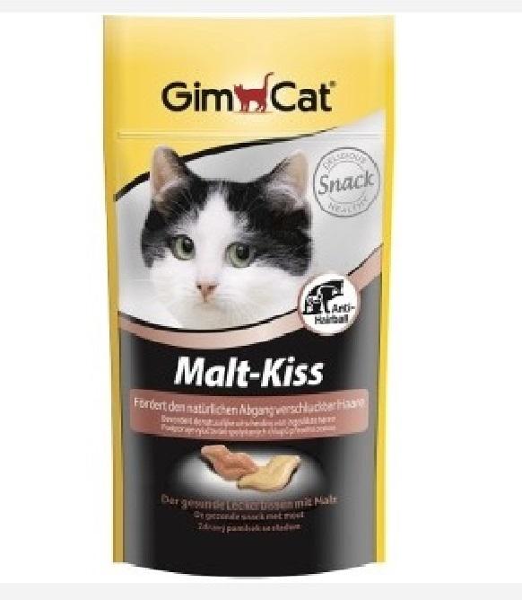 Джимкэт Витаминизированное лакомство Malt-Kiss (Мальт-Кисс) для кошек, 450 г, GimCat