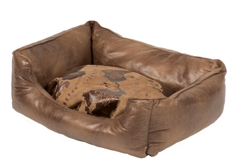 Дуво+ Лежак с бортиками Explorer Bed, в ассортименте, Duvo+