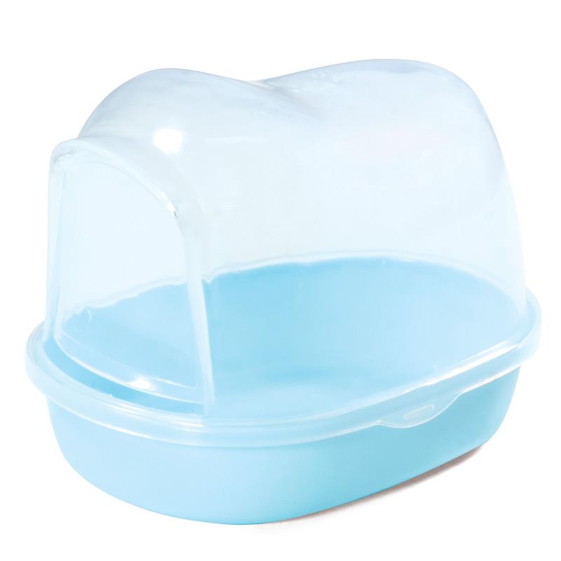 Триол Пластиковая купалка с дверкой, в ассортименте, голубая, Triol