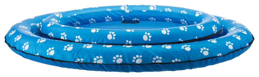 Трикси Надувной плот для собак синий, насос в комплекте, в ассортименте, Trixie