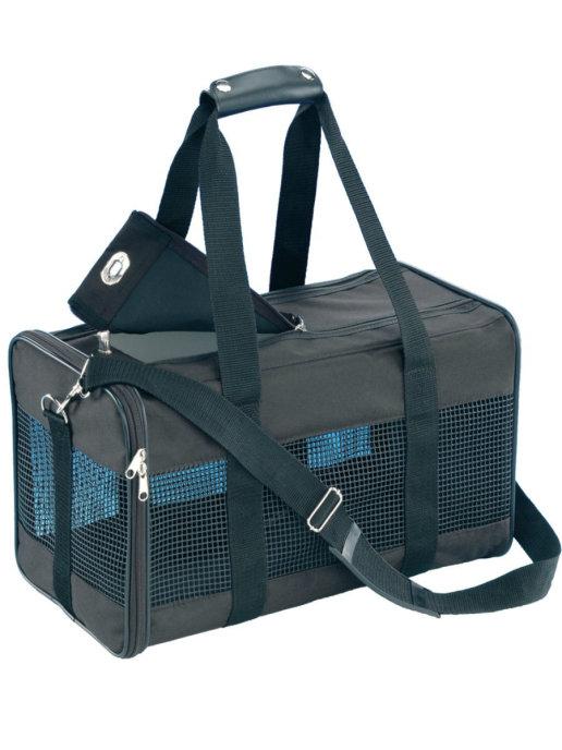 Нобби Сумка-переноска CARRIER BAG для собак и кошек, в ассортименте, черная, Nobby