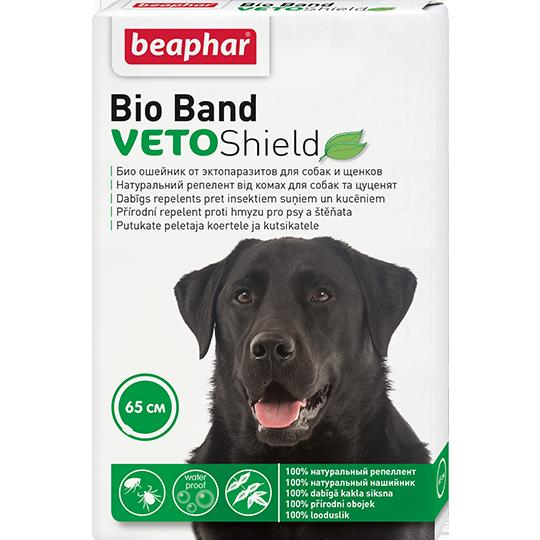 Беафар Биоошейник VETO Shield Bio Band от эктопаразитов для собак и щенков, 65 см, Beaphar