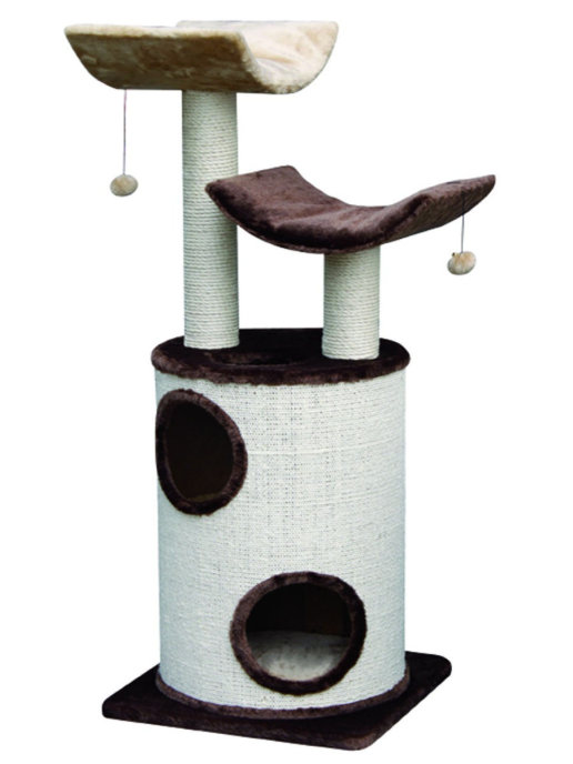 Нобби Комплекс для кошек KADUNA 45*45*118 см кремовый, Nobby