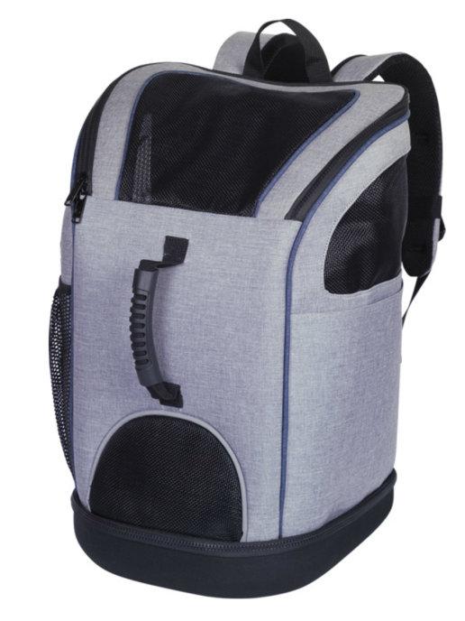 Нобби Сумка-рюкзак Katy 2в1 для авиаперевозок собак и кошек 30*30*46 см серая, Nobby
