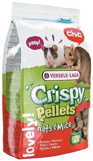 Верселе Лага Корм для крыс и мышей Crispy Pellets Rats/Mice гранулированный, 1 кг, Versele-Laga
