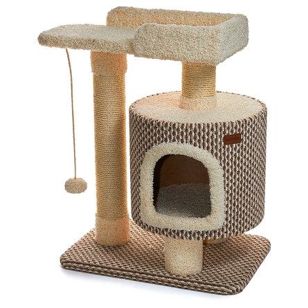 Сайвал Комплекс Somero для кошек 75*47*85 см, в ассортименте, ковролин/сизаль, Saival