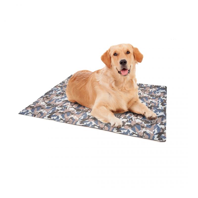 Дуво+ Охлаждающий коврик для животных 96*81 см камуфляж Duvo+