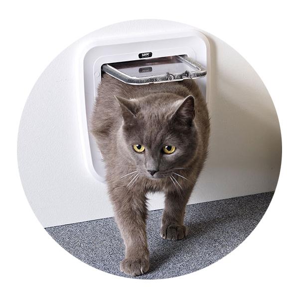 Савик Дверца Classic для кошек и небольших собак 24*25 см в ассортименте, Savic