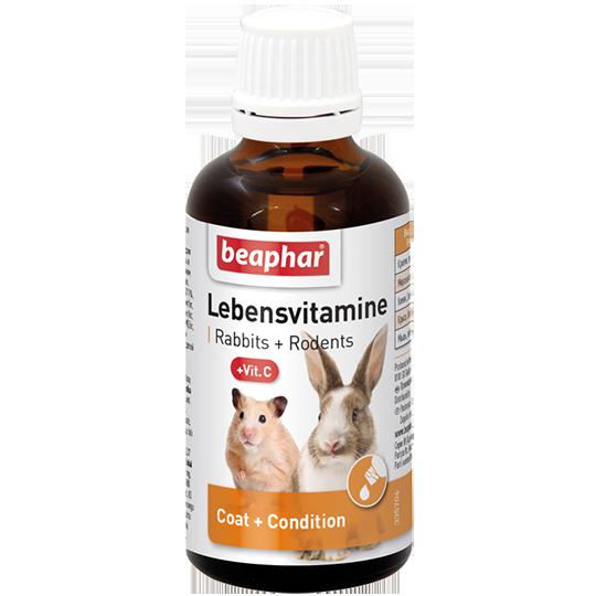Беафар Кормовая добавка Lebensvitamine для грызунов, 50 мл, Beaphar